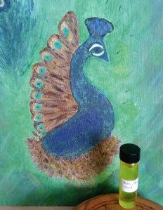 peacock god